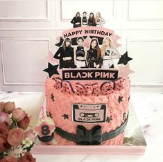 Number Birthday Cakes, Pink Birthday Cakes, Birthday Cake Toppers, Bts Cake, Its My Bday, Cake Toppings, Girl Cakes, Baking Ingredients, Party Cakes