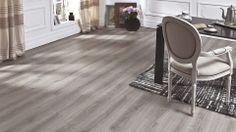 Lame vinyle à clipser Easytrend clic Premium chêne gris - Saint Maclou
