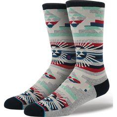 http://www.fashionnewswebsites.com/category/mens-socks/ Stance Men's Thunderhead Socks | Grey L/XL