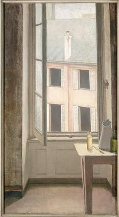 Balthus (Klossowski de Rola Balthasar) (1908-2001) - Window, 1951