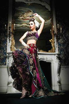 Ekta Solanki Couture | Portfolio - Sophia - Bridal 2011