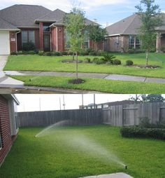 How to install an underground sprinkler system on a budget. Like the pricing & product info.