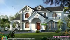 Awesome sloping roof home