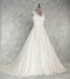 WED2B Anna Sorrano's 'Carmen' Lace Wedding, Dream Wedding, Wedding Dresses, Anna, Wedding Ideas, Fashion, Bride Dresses, Moda, Bridal Gowns