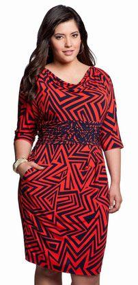 Love this dress! #plussize #plus #dresses