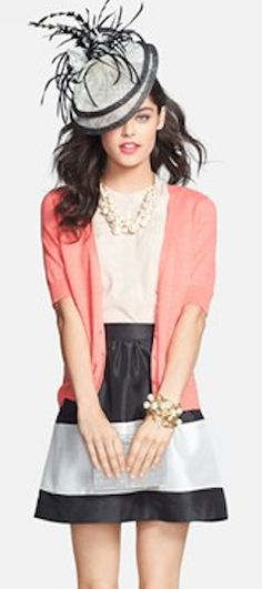 lovely #coral cardigan  http://rstyle.me/n/ij64dpdpe