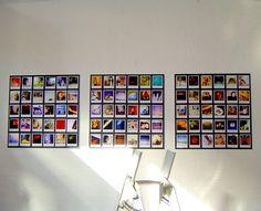 polaroid_mur_carre - Un regard certain Polaroid Camera Pictures, Photo Polaroid, Polaroid Wall, Polaroids, Polaroid Ideas, Polaroid Cameras, Wall Art Crafts, Diy Wall Art, Photo Window