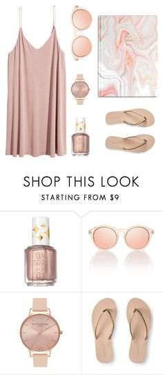 """Trend Watch: Jewel Tones"" by bncollege on Polyvore featuring Essie, Le Specs, Olivia Burton and Aéropostale"