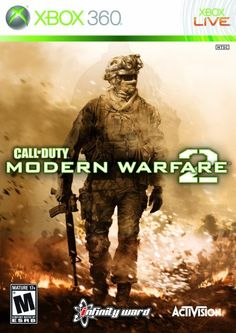 Call of Duty: Modern Warfare 2: Since my Xbox means so much to me, I might as well add something I enjoy playing, right? Modern Warfare 2, is my all time favorite Call of Duty game all because I can somehow manage to get kills on it. Since the servers are so low now, there is not as much try-hards as there used to be. On top of that, I have been playing this since it came out.