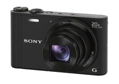 Sony DSC-WX300W 18 MP Digital Camera with 20x Optical Image Stabilized Zoom and 3-Inch LCD