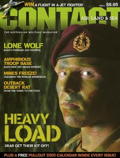 CONTACT Air Land & Sea issue 3, first published in September 2004