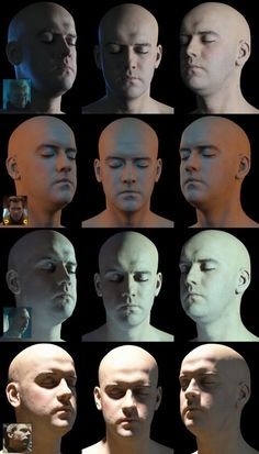 Light on the face, livht and sg Light and shadow Digital Art Tutorial, Digital Painting Tutorials, Art Tutorials, Drawing Tutorials, Drawing Tips, Face Drawing Reference, Art Reference, Anatomy Reference, Shadow Drawing