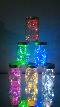 Use LED String Lights to create your own Glowing Fairy Jars! Many color options and waterproof - Try some water in the jars for an added shimmering light effect! 13th Birthday Parties, Birthday Party For Teens, Neon Birthday Cakes, 2 Birthday, Teen Girl Birthday, Gold Party, Disco Party, Neon Party Decorations, Neon Party Themes