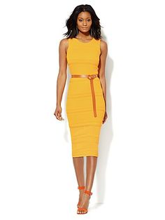 24ed57d9f2 Shop Midi Pointelle Sweater Dress. Find your perfect size online at the  best price at