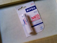 lip balm for chapped lips  Hey There!: REVIEW : Nivea Med Protection SPF 15