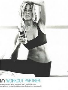 this picture gets me through my workouts some days. She looks fab.