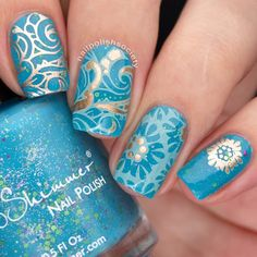 Nail Polish Society>> UberChic Beauty Collection 10 Stamping Plate Review