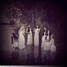 "Viona Ielegems, ""Rusalki"", photography #faerie"