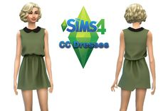 The Sims 4 CC Dresses