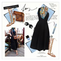 """""""Atlantic-Pacific - Arriving in Venice"""" by amaryllis ❤ liked on Polyvore featuring Preen, Hermès, Stuart Weitzman, Gucci, Estée Lauder and Butter London"""