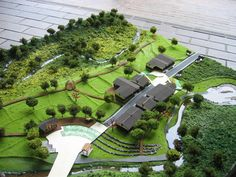 Physical Model Making for Landscape Design on Behance