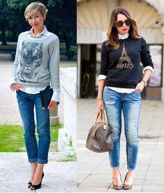 05_inspiração de look do dia_look de domingo_blusa de moletom e salto alto