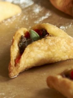 Cardamom Scented Hamantashen with Pear and Goat Cheese Filling