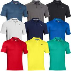 Under Armour '16 Mens UA Perform Tech Polo T-Shirt