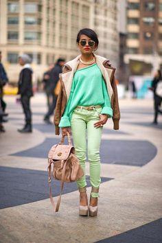 Love those greens!!