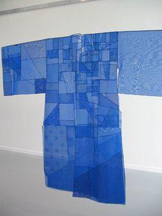 Blue Pojagi,  Chunghie Lee, artist