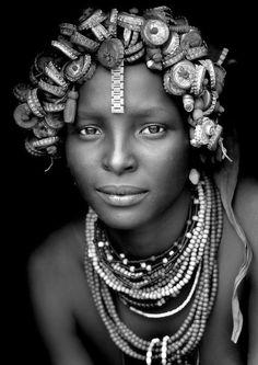 Африканская красотка