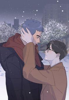 Manga Anime, Manhwa Manga, Otaku Anime, Anime Guys, Anime Art, Bl Comics, Manga Comics, Bl Webtoon, Anime Boy Zeichnung