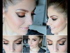 Bronze Smokey Eye Tutorial | Chi Chi Glamorous Bronzes Palette - YouTube
