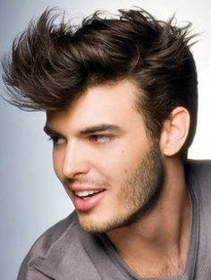 I immediately saw Magnus in this hairstyle... Only if this guy's hair was black... :p The way that his hair is teased up is exactly how I pictured Magnus