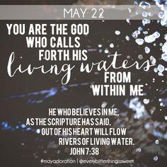 John 7:38 #Bible #Adoration
