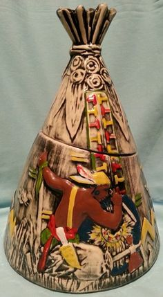 McCoy Cookie Jars--TeePee Cookie Jar My grandmother had this one