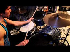 How To Play Bonham Triplets: Made Easy! Drum Tuning, Oddly Satisfying Videos, Drum Lessons, How To Play Drums, Drum Kits, Keep It Simple, Triplets, Percussion, Led Zeppelin