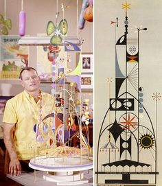 Rolly Crump and his Tower of the Four Winds for 1964 World's Fair.