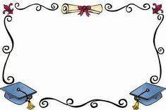 BORDES GRADUACIÓN - Chus Puyal - Álbumes web de Picasa Graduation Cards, Graduation Invitations, Preschool Certificates, Caterpillar Craft, Page Borders Design, Diploma Frame, School Frame, School Clipart, Certificate Design