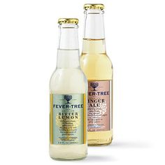 Brides: Bitter Lemon and Ginger Ale Soda. Bottled Up