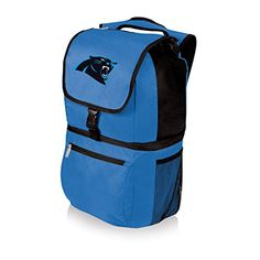 NFL Zuma Insulated Cooler Backpack Blue Carolina Panthers * Click image for more details.