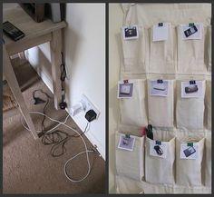 Nata disorganizzata: Come organizzare: caricabatterie, cavi e cavetti