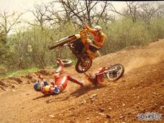 Motocross crash!