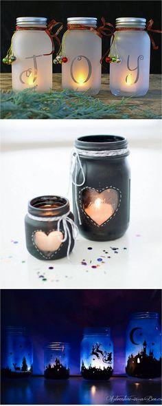 DIY Mason Jar Lights: 25 Best Tutorials, Kits, & Supplies - Page 2 of 2 - A Piece Of Rainbow