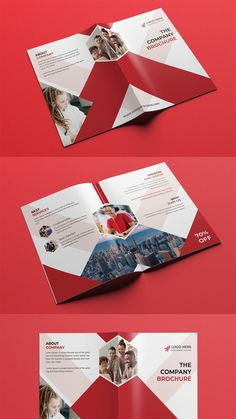 This Corporate Tri-fold Brochure template is suitable for a creative and corporate agency. It's made with Photoshop and easily editable text, logo, color, image, and all layers are properly organized. In this PSD file. #brochure #bifold #bifold_brochure #brochure_template #proposal #annualreport #squre_brochure #bifold_design #elegant #flyer #corporate_bifold #business_bifold #a4_brochure #brochure_template #corporate #business #advertising #company_profile #multipurpose #promotion… Bi Fold Brochure, Brochure Design, Brochure Template, Corporate Business, Company Profile, Tri Fold, Logo Color, Marketing Materials, Proposal