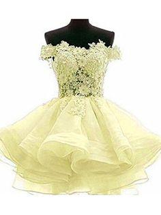 missgotti Cap Sleeve Organza Lace Short Prom Dresses Bead... https    964f43620
