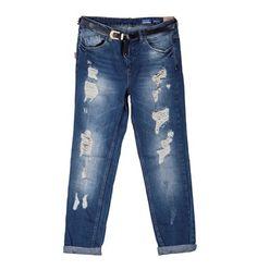Stella ripped boyfriend jeans