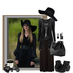 no dumb hat Coven Fashion, Fashion Tv, Fashion Beauty, Halloween Queen, Witch Outfit, Dress Up Costumes, Cosplay, Guys And Girls, American Horror