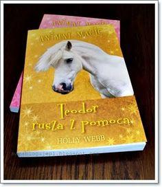 """Książki są genialnym narzędziem w rękach rodzica, który chciałby wprowadzić swoje pociechy w świat przygód, fantazji czy magii. Kolejna seria książek HOLLY WEB """"Animal Magic"""" w rewelacyjny sposób uczy, bawi i przede wszystkim zainteresuje niejednego malucha..."""