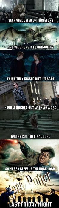 harry potter humor is the greatest.